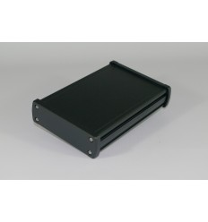 Aluminium enclosure Gainta - ALUG704BK160