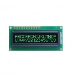 LCD - 2 x 16 znaków Green